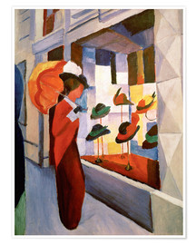 Premium-plakat  The Hat Shop - August Macke
