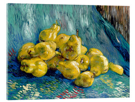 Akrylbillede  Still life with quinces - Vincent van Gogh