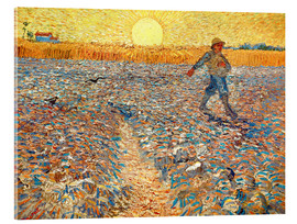 Akrylbillede  The Sower (Sower at Sunset) - Vincent van Gogh