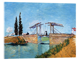 Akrylbillede  The Langlois Bridge at Arles - Vincent van Gogh
