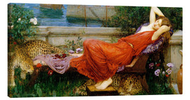 Lærredsbillede  Ariadne - John William Waterhouse