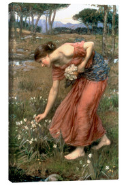 Lærredsbillede  Narcissus - John William Waterhouse
