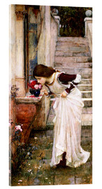 Akrylbillede  The Shrine - John William Waterhouse