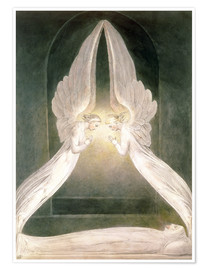 Premium-plakat Christ in the Sepulchre, Guarded by Angels