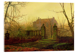 Akrylbillede  Autumn Morning - John Atkinson Grimshaw