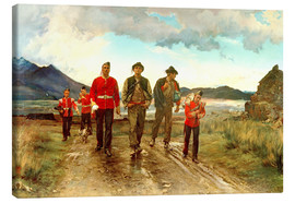 Lærredsbillede  'Listed for the Connaught Rangers': Recruiting in Ireland, 1878 - Lady Butler
