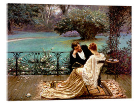 Akrylbillede  The Pride of Dijon - William John Hennessy