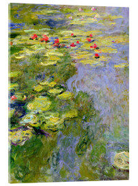 Akrylbillede  The lily pond - Claude Monet