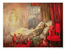 Premium-plakat  The Stuff that Dreams are Made Of - John Anster Fitzgerald