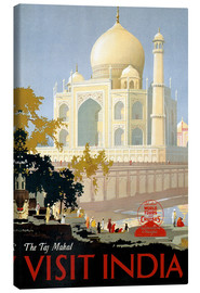 Lærredsbillede  Indien - Taj Mahal - Travel Collection