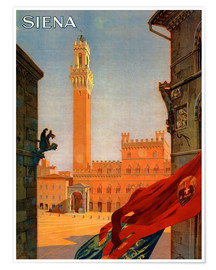 Premium-plakat  Siena, Tuscany in Italy - Travel Collection