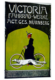 Akrylbillede  Victoria Fahrradwerke - Advertising Collection