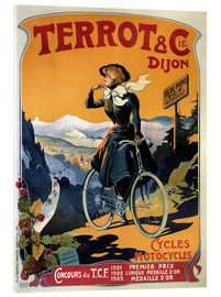 Akrylbillede  Terrot & Cie Dijon bicycles and motorcycles - Advertising Collection