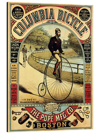 Print på aluminium  Columbia Bicycles - Advertising Collection