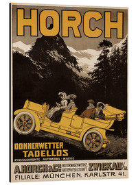 Print på aluminium  Horch cars - Golly impeccable - Advertising Collection