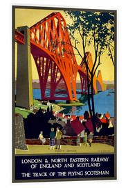 Akrylbillede  Forth Bridge London Railway - Travel Collection