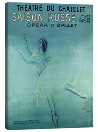Lærredsbillede  Saison Russe - Opera et Ballet - Advertising Collection