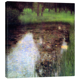 Lærredsbillede  The Swamp - Gustav Klimt