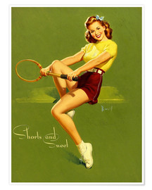 Premium-plakat  Pin Up - Shorts and Sweet - Al Buell