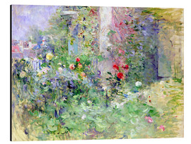 Print på aluminium  The Garden at Bougival - Berthe Morisot