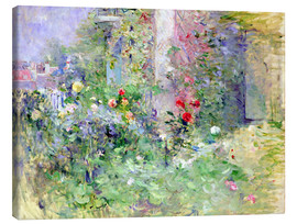 Lærredsbillede  The Garden at Bougival - Berthe Morisot