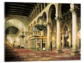 Akrylbillede  The Umayyad Mosque in Damascus