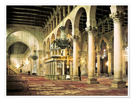 Premium-plakat  The Umayyad Mosque in Damascus
