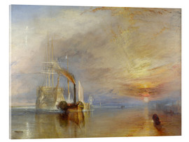 Akrylbillede  The Fighting Temeraire - Joseph Mallord William Turner