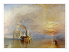 Premium-plakat  The Fighting Temeraire - Joseph Mallord William Turner