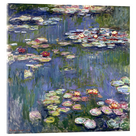 Akrylbillede  Haven i Giverny - Claude Monet