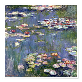 Premium-plakat  Haven i Giverny - Claude Monet