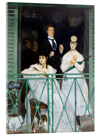 Akrylbillede  The Balcony - Edouard Manet