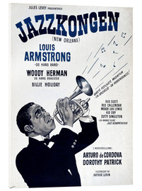 Akrylbillede  Louis Armstrong New Orleans