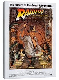 Lærredsbillede  Indiana Jones - Raiders of the lost ark