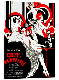 Akrylbillede  dry Martini - Advertising Collection