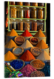 Akrylbillede  Spices from Morocco - HADYPHOTO