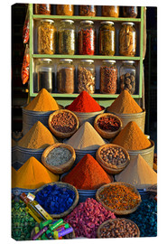 Lærredsbillede  Spices from Morocco - HADYPHOTO