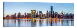 Lærredsbillede  New York - Midtown Manhattan Skyline - Sascha Kilmer