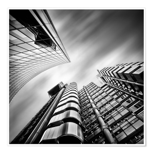 Premium-plakat Lloyds London | 01 (black/white)