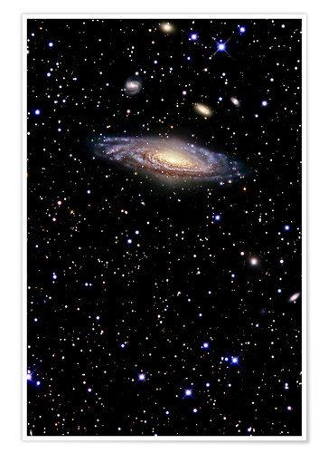 Premium-plakat Spiral galaxy in the constellation Pegasus