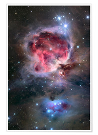 Premium-plakat The Orion Nebula