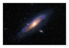 Premium-plakat The Andromeda Galaxy