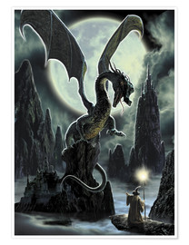 Premium-plakat  Dragons rock - Dragon Chronicles