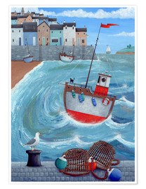 Premium-plakat  Lobster pot - Peter Adderley