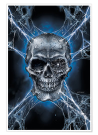 Premium-plakat  Spiderskull - Richard Kelly