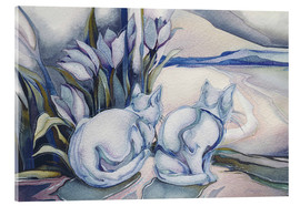 Akrylbillede  Miracles come quietly - Jody Bergsma