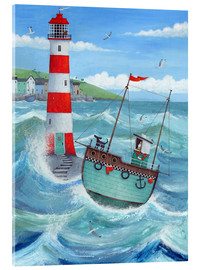 Akrylbillede  Lighthouse - Peter Adderley