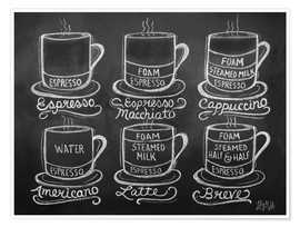 Premium-plakat  Coffee Cups - Lily & Val