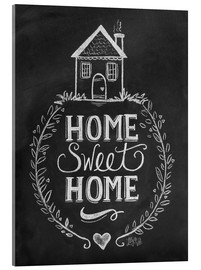 Akrylbillede  Home Sweet Home - Lily & Val
