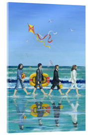 Akrylbillede  Abbey Road Beach - Peter Adderley